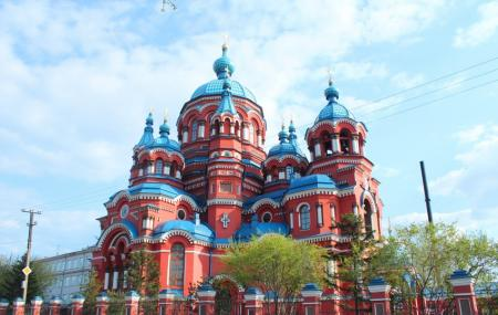 Cathedral Of The Kazan Icon Of Mother Of God Image