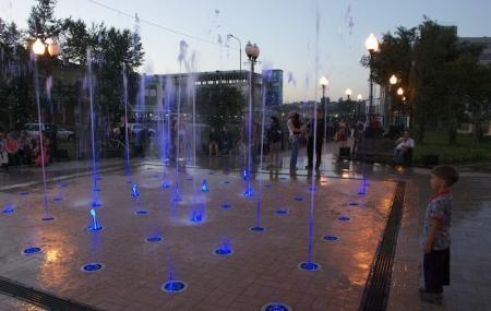 Fountain Near Artist's Home Image
