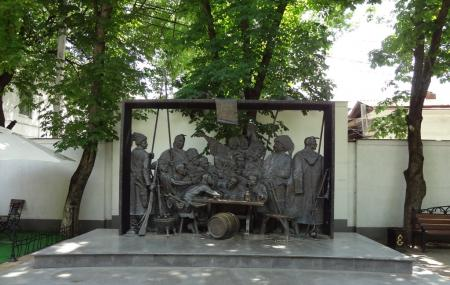 Monument Cossacks Writing A Letter To The Turkish Sultan Image