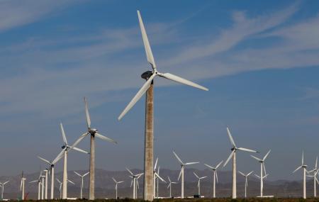 Dabancheng Wind Power Station Image