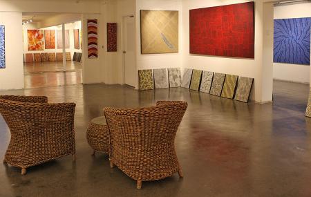 Boomerang Art-aboriginal Fine Art Gallery Image