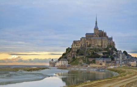Abbey Of Mont Saint Michel Image