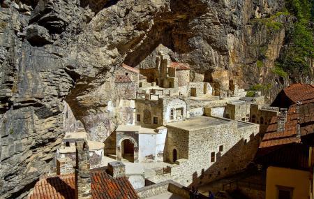 Sumela Monastery Image