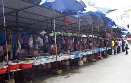 Zhuhaiwanzai Seafood Street Image