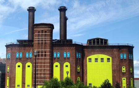 Hudson And Manhattan Railroad Powerhouse Image