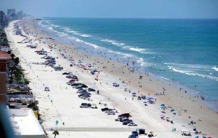 Beach At Daytona Beach Image