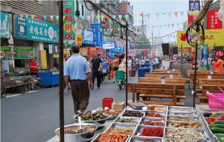 Nanning Zhongshan Snack Street Image