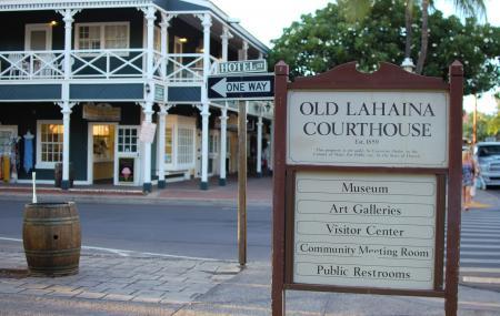 Old Lahaina Court House Image