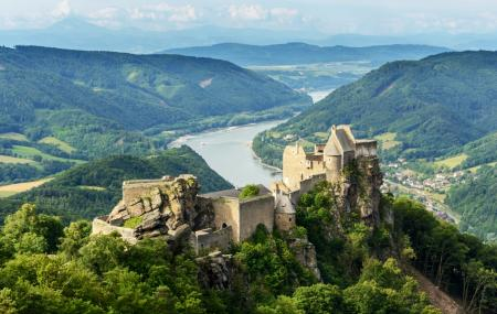 Ruins Of Aggstein Castle Image