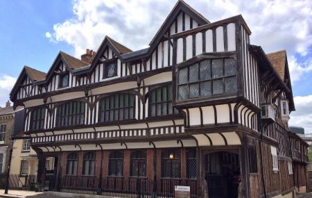 Tudor House And Garden Image