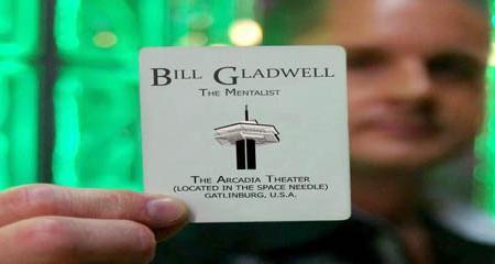 Bill Gladwell, The Mentalist Image