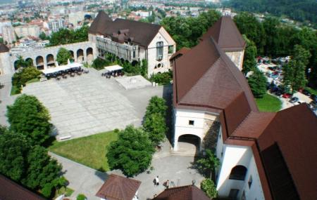 Ljubljana Castle Image