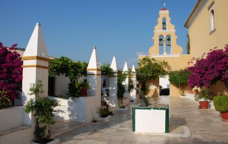 Palaiokastritsa Monastery Image