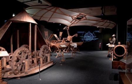 Leonardo Da Vinci Machines Image
