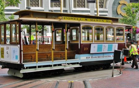 Powell And Market Cable Car Turnaround Image