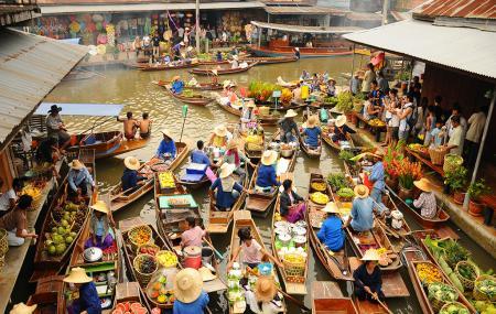 Damnoen Saduak Floating Market Image