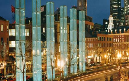 The New England Holocaust Memorial Image