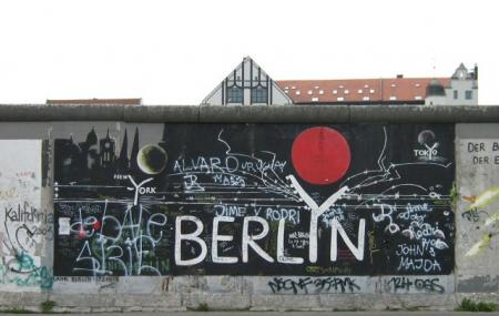 Berlin Wall Memorial Image