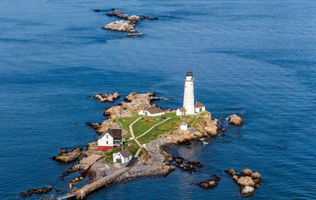 Little Brewster Island And Lighthouse Image