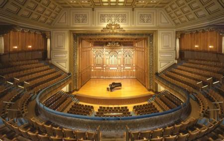 New England Conservatory Jordan Hall Image