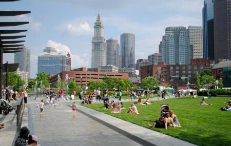 Rose Fitzgerald Kennedy Greenway Conservancy Image