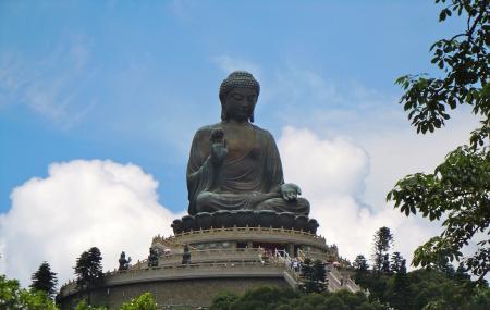 Po Lin Monastery Image