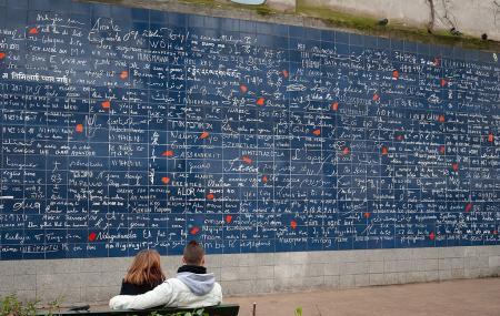 Le Mur Des Je T'aime Image