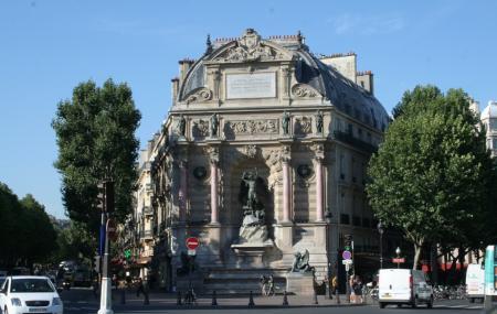 Fontaine Saint-michel Image