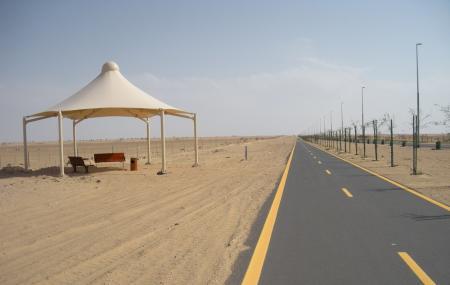Al Qudra Cycle Path Image