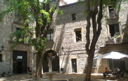 Placa De Sant Felip Neri Image