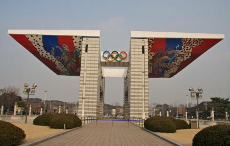 Olympic Park Seoul Image