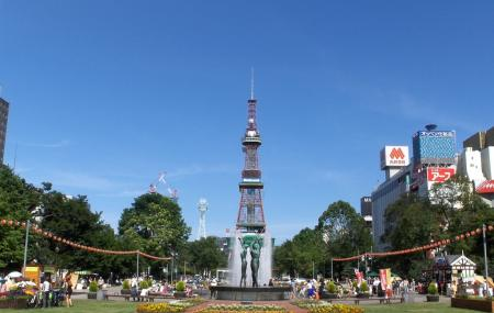 Sapporo Tv Tower Image