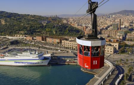 Port Vell Aerial Tramway Image