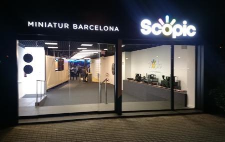 Scopic Miniatur Barcelona Image