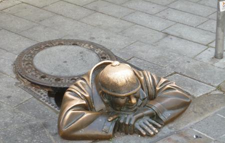 Man At Work- Cumil Image