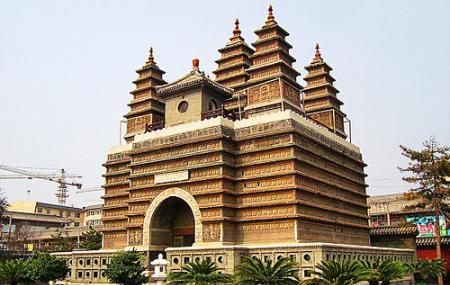 Beijing Five Pagoda Temple Image