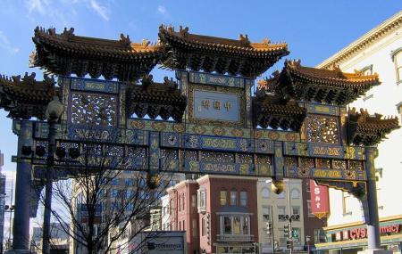 Chinatown's Friendship Archway Image
