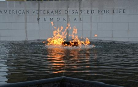 The American Veterans Disabled For Life Memorial Image
