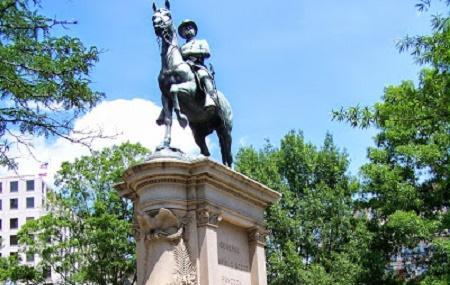 Major General Winfield Scott Hancock Statue Image