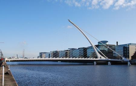 Samuel Beckett Bridge Image