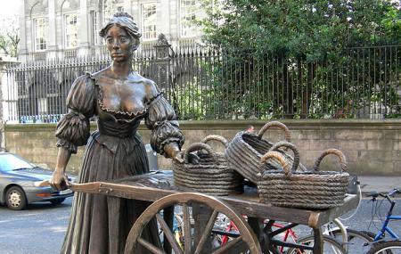 Molly Malone Statue Image