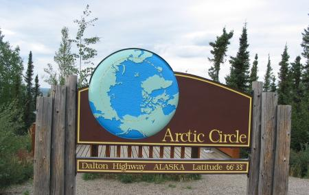 Blm Arctic Circle Monument Sign Image