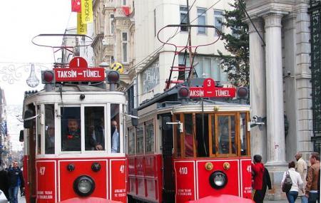 Galatasaray Tram Image