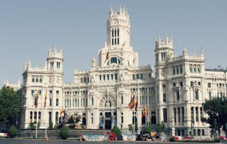 Plaza De Cibeles Image