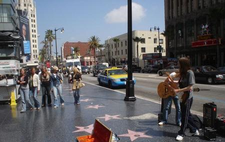 Hollywood Walk Of Fame Image