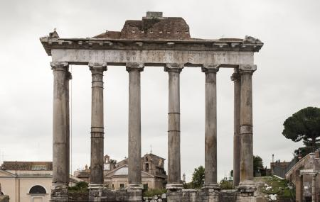 Temple Of Saturn Image