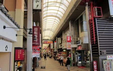 Higashimuki Shopping Arcade, Nara