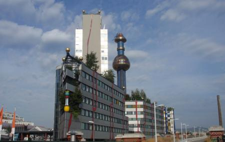 District Heating Plant Spittelau Image
