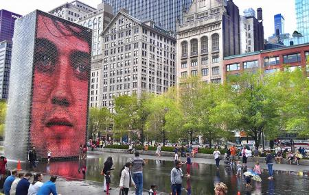 Crown Fountain Image