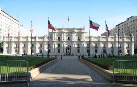 La Moneda Palace Image